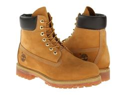 Timberland 10061 6 Inch Premium Men's Work Boots Wheat Nubuc