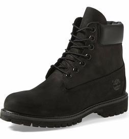 """{10073} TIMBERLAND 6"""" Premium Black Waterproof Boots *NEW*"""