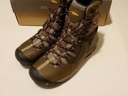 "KEEN 1008313 - Men's Detroit 8"" Steel Toe Boot - Black Olive"