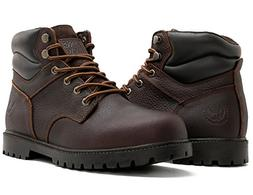 KINGSHOW Men's 1366 Water Resistant Premium Work Boots  US M