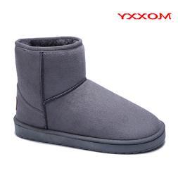 2019 New Unisex Snow <font><b>Boots</b></font> Women Grey Br
