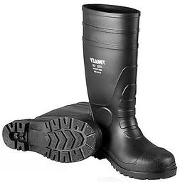 TINGLEY 31251 Oversock Boots, Mens, Size 10, Black, PR