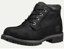 TIMBERLAND 32085 MEN'S BLACK NUBUCK LEATHER WATERPROOF CHUKK