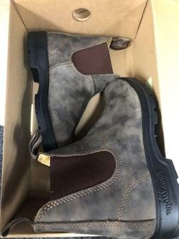 Blundstone #585 Rustic Brown 550 Chelsea Boots Unisex Medium