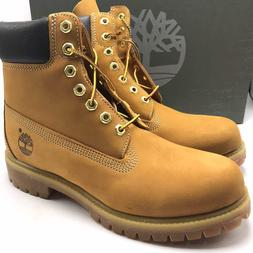 Timberland 6 Inch Premium Waterproof Boots Wheat Men's Shoes