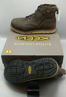 "KEEN 6"" San Jose Waterproof Leather Men's Work Boots SZ 9.5"
