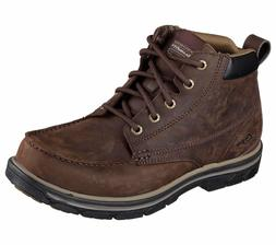 Skechers 64265 Mens Relaxed Fit Segment Barillo Brown #BR