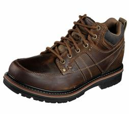 64322 Skechers Men Marcelo Topel Lace Up Boots Relaxed Fit M