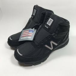 NEW BALANCE 990V4 MEN'S MADE IN USA MID BOOTS M0990BK4 BLACK