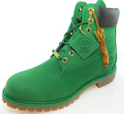 "TIMBERLAND A1IPD MEN'S 6"" PREMIUM GREEN WATERPROOF INSULATED"