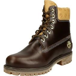 "TIMBERLAND A1QNA MEN'S ICON 6"" BROWN PREMIUM WATERPROOF BOOT"