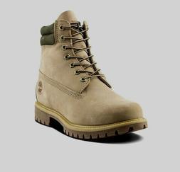 "A1QRD TIMBERLAND Men's Premium 6"" Tan Waterproof Boots ALL S"