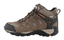 Merrell Men's Accentor Mid Vent Waterproof Hiking Boot, Boul