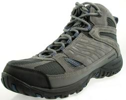 COLUMBIA ACCESS POINT MID MEN'S GREY WATERPROOF HIKING BOOTS