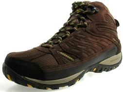 COLUMBIA ACCESS POINT MID MEN'S TOBACCO WATERPROOF HIKING BO