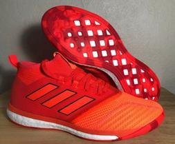 Adidas Ace Tango 17.1 TR Indoor Soccer Boots Orange Sz 10 Me