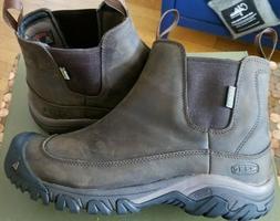 Keen Anchorage III Mens Sz 7 US Waterproof Slip On Leather W