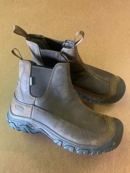 Keen Anchorage III Pull On 1017790 Waterproof Leather Boots