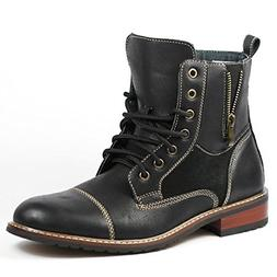 Ferro Aldo Andy Mens Ankle Boots | Combat | Lace Up | Fashio