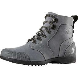 Sorel Ankeny Mid Hiker Boot - Mens City Grey / Shark 11.5