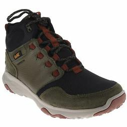 Teva Arrowood Venture Mid Wp Dark Olive Mens Outdoor Boots S