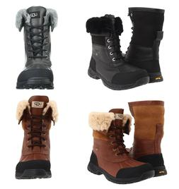 Authentic UGG Mens Butte Winter Boots Waterproof Leather Ski