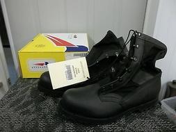 Belleville Men Boot Black Safety Shoe Steel toe Size 14 Mili