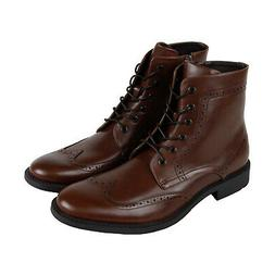 Unlisted by Kenneth Cole Blind Sided Mens Brown Dress Boots