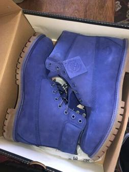 Blue Timberland Boots Men's Size 10.5 - Limited Release -