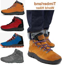 Timberland Boots World Hiker Mens Hiking Boots Suede Ankle S