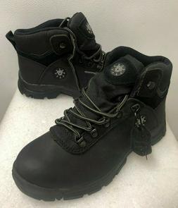 Globalwin Boots M1552-1 Men's Midtop Work Boots Sz: 8.5 Blac