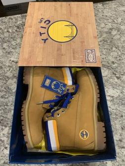 Timberland Boots NBA Golden State Warriors Wheat Shoes TB0A1