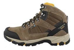 Hi Tec Borah Peak Waterproof  Shoes Leather Mens Hiking Shoe