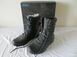 TEVA BORMIO MEN'S BLACK BOOTS NEW WITH BOX - LACE-UP WITH TH