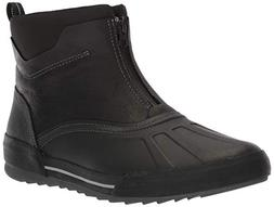 Clarks Men's Bowman Top Boot, black leather, 130 M US