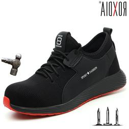 ROXDIA brand plus size 36-46 steel toecap <font><b>men</b></