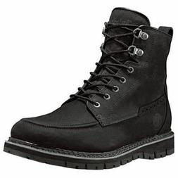 TIMBERLAND BRITTON HILL MEN'S  MOC TOE WP BOOTS BLACK STYLE