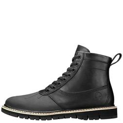 Timberland Britton Hill Men's Side-Zip Black Leather Rubber
