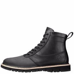 Timberland Men's Britton Hill Rubber Toe Boot Black Full Gra