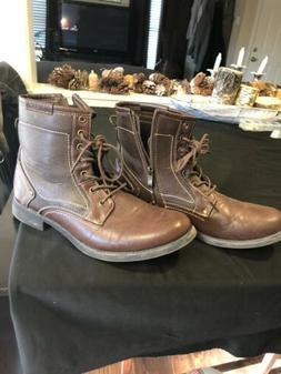 Steve Madden Brown Boots Unisex Size 9 Men's