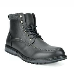 Bruno Marc Men Apache-01 Motorcycle Combat  Ankle Boots Size