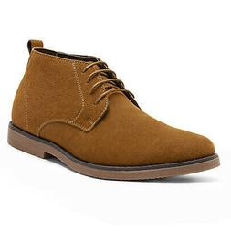 Men's Casual Dress Leather Chelsea Chukka Suede Lace Up Ankl