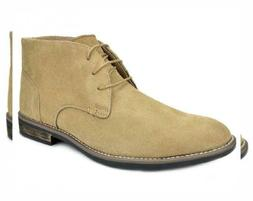 Bruno Marc Men's URBAN-01 Suede Leather Lace Up Oxfords Dese
