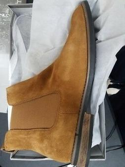 Bruno Marc Men's Urban-06 Camel Suede Leather Chukka Ankle B