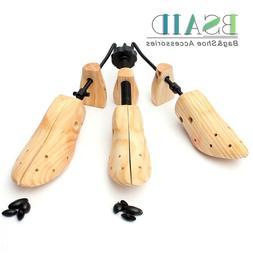 BSAID 1 Piece Shoe Tree Wood Shoes Stretcher, Wooden Adjusta