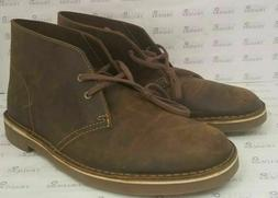 bushacre leather chukka boots beeswax mens size