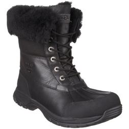 UGG Men's Butte Snow Boot, Black, 10 M US
