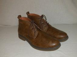 Izod Cally Chukka Boots Men's Size 11 M----Brown Sythetic Le