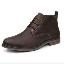 IZOD CALLY Mens Dark Brown Smooth Chukka Boots