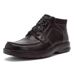 CLARKS CAMERON MOC BT MEN'S BLACK LEATHER BOOTS STYLE # 6331